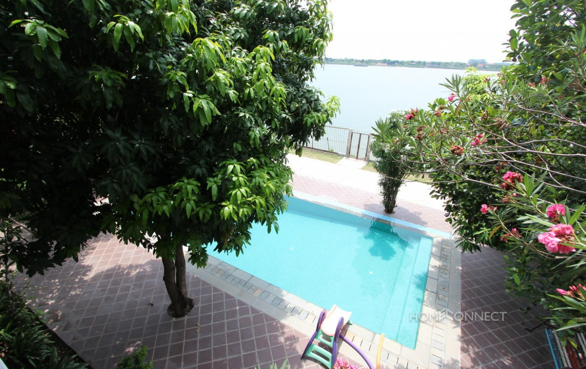 ''Private Pool 5 Bedroom Villa For Rent In Chroy Chongva | Phnom Penh Real Estate''