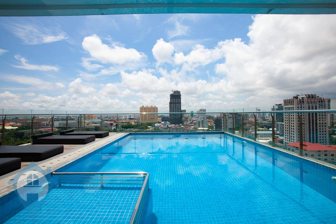 ''Contemporary 1 Bedroom Close to Independence Monument | Phnom Penh Real Estate''