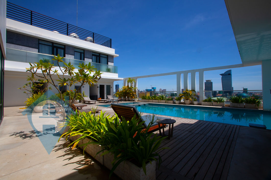 ''Spacious 4 Bedroom Penthouse For Sale Near Central Market | Phnom Penh Real Estate''