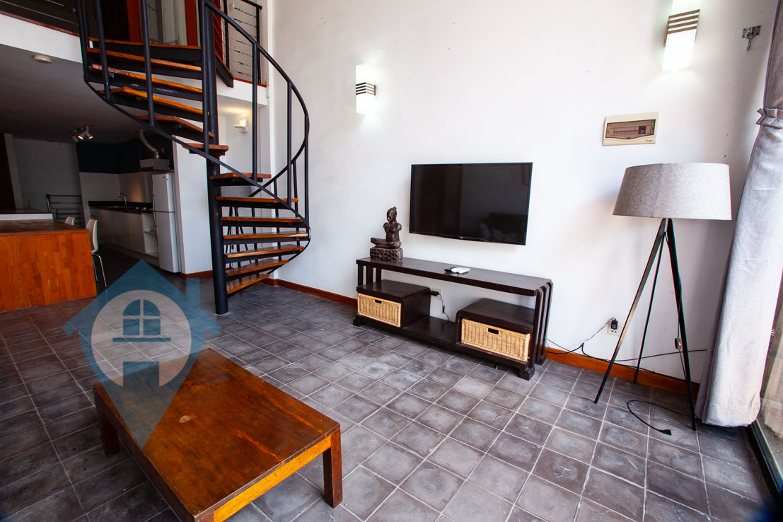 ''Loft Style 1 Bedroom in BKK1 | Phnom Penh Real Estate''